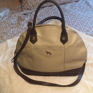 Emma Fox satchel handbag with shoulder strap
